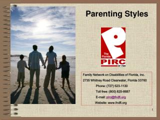Family Network on Disabilities of Florida, Inc. 2735 Whitney Road Clearwater, Florida 33760                Phone: 727 52