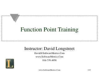 Function Point Training