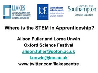 Where is the STEM in Apprenticeship
