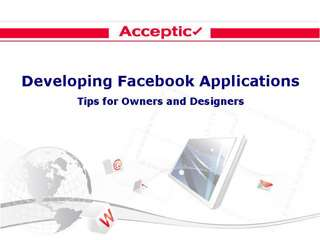 Developing Facebook Applications - Tips for Owners