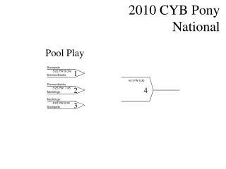 2010 CYB Pony National 61 PW 5:30