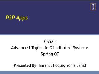 P2P Apps