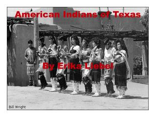 American Indians of Texas