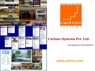 Carinov Systems Pvt. Ltd.                                                                   Carrying out Innovations