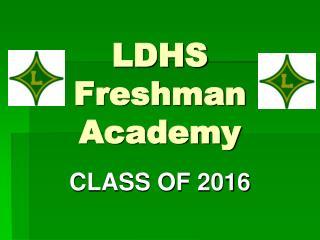 LDHS Freshman Academy