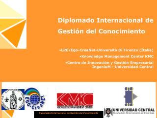 Diplomado Internacional de Gesti n del Conocimiento
