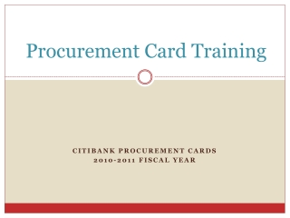ARRA Grants  Procurements