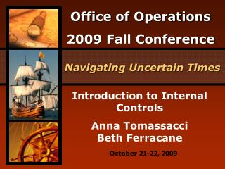 Introduction to Internal Controls Anna Tomassacci Beth Ferracane