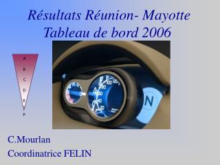 R sultats R union- Mayotte Tableau de bord 2006