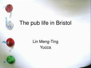 The pub life in Bristol