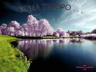 TOMA TIEMPO . . .