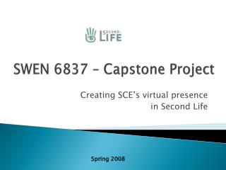 SWEN 6837   Capstone Project