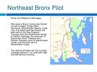 Northeast Bronx Pilot