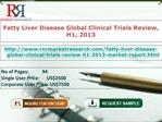 Fatty Liver Disease Global Clinical Trials Review, H1, 2013