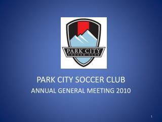 PARK CITY SOCCER CLUB