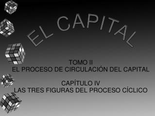 TOMO II EL PROCESO DE CIRCULACI N DEL CAPITAL  CAP TULO IV LAS TRES FIGURAS DEL PROCESO C CLICO