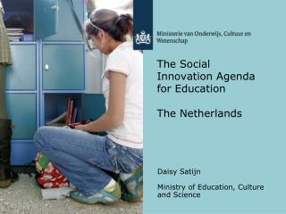 The Social Innovation Agenda for Education  The Netherlands