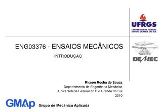 ENG03376 - ENSAIOS MEC NICOS