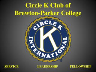 Circle K Club of  Brewton-Parker College