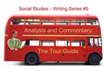 Analysis and Commentary:    The Tour Guide