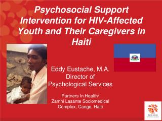 Psychosocial Support Intervention for HIV-Affected Youth and Their Caregivers in Haiti
