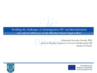 Employment of third-country nationals in the European Union   Orientation paper