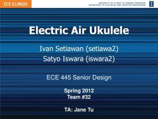 Electric Air Ukulele