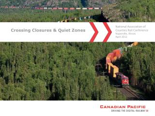 Crossing Closures  Quiet Zones