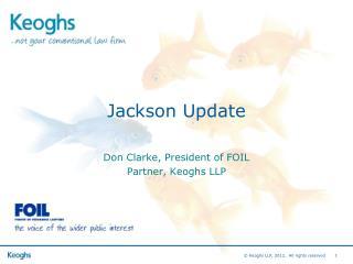 Jackson Update