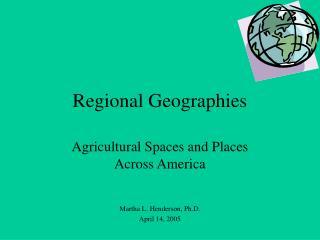 Regional Geographies