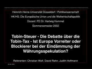 Heinrich-Heine-Universit t D sseldorf