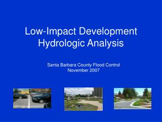 Low-Impact Development Hydrologic Analysis