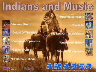 Indians and Music