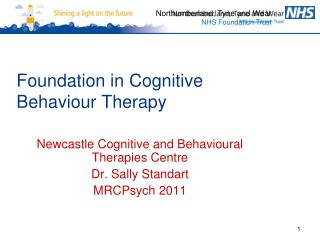 Foundation in Cognitive Behaviour Therapy