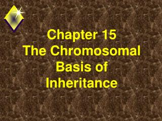 Chapter 15        The Chromosomal Basis of Inheritance