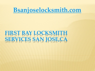 24 Hour Emegency Services provided by Locksmith San Jose