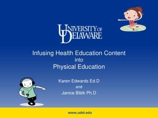 Infusing Health Education Content  into Physical Education