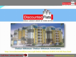 Flat for Sell in Karve Nagar
