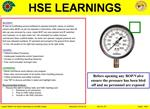 Contact MSE511 for further information or visit HSE website  Reference: LTI No. 18  Alert No.  07   August   2010