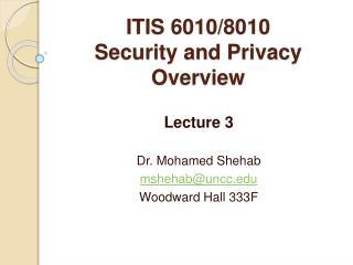 ITIS 6010