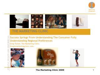 The Marketing Clinic 2009