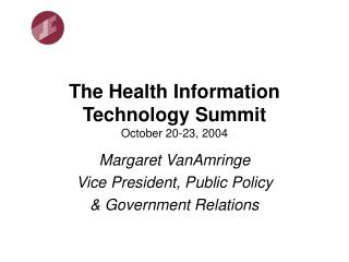 The Health Information Technology Summit