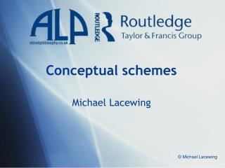 Conceptual schemes