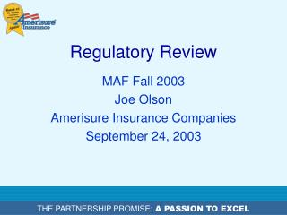 Regulatory Review