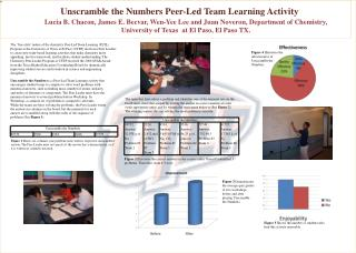 Unscramble the Numbers Peer-Led Team Learning Activity