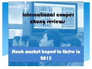 International Cooper Chung Reviews