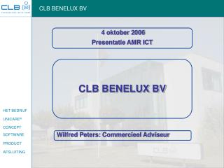 CLB BENELUX BV