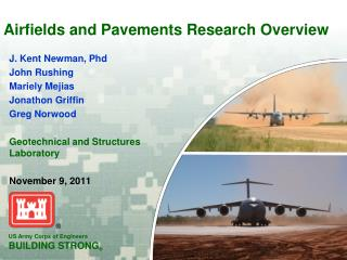 Airfields and Pavements Research Overview