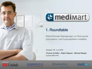 Weiterf hrende  berlegungen zur Nutzung der Informations- und Prozessplattform mediMart