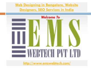 Web Designing in Bangalore Website Designers  Seo Services i